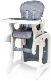 4Baby Krzesełko do karmienia FASHION szary 761209
