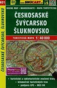 Szwajcaria Czeska mapa turystyczna w skali 1:40 000 - Lider Serwis