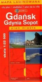 Gdańsk, Gdynia, Sopot - plan miasta w skali 1: 24 000 - Daunpol