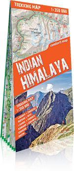 ExpressMap Himalaje Indyjskie (Indian Himalaya) laminowana mapa trekkingowa - ExpressMap