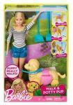 Barbie Lalka Barbie Spacer z pieskiem czyścioszkiem DWJ68 DWJ68