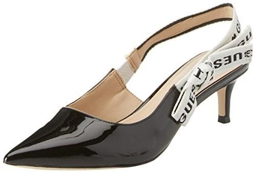 Guess GUESS damskie Footwear Dress Sling Back Pumps - czarny - 37 eu  FLDY21PAF05 BLACK 725f6f2a17a