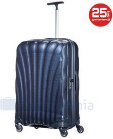Samsonite Duża walizka COSMOLITE 73351 Granatowa - granatowy