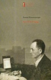 Centrum Badań nad Zagładą Żydów Notatnik - Rozensztajn Szmul