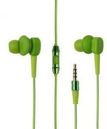 Boompods Earbuds Mic/Remote zielone