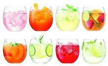 LSA International ,-szklanki do whisky, 450ML, przezroczyste, zestaw z 8sztuki G1363-16-301