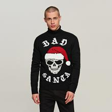 Reserved Sweter świąteczny - Czarny