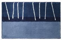 Dywanik łazienkowy 55 x 85 cm blau Sealskin Matches 293304421