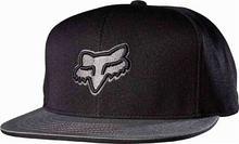 Fox czapka z daszkiem Slasher Head Snapback Black 001)