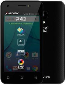 Allview P42 8GB Dual Sim Czarny