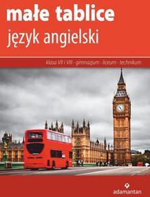 Adamantan Małe tablice Język angielski 2017 - Robert Gross, Magdalena Junkieles, Maria Sikorska, Magdalena Ziółkowska