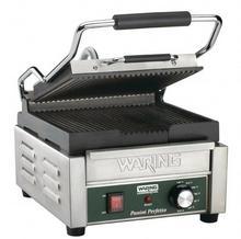 Waring Grill kontaktowy żeliwny pojedyńczy ryflowany   2000W 230
