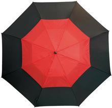 KEMER Parasol golf, MONSUN, czarny/czerwony - czarny / czerwony 56-0104172