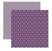 Papier 30x30cm Elegantly Festive-Snowflakes Beauty