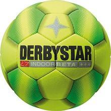 Derbystar Neutral Indoor Beta piłka futbolowa, żółty 1054400540_Gelb/Grün_4