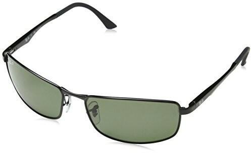 93c6503fc8816 Ray-Ban Okulary przeciwsłoneczne Unisex rb3498, rozm. 61 MM, gra  (monochromatyczny