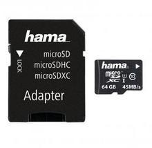 Hama microSDXC class 10 ( + adapter ) 64GB
