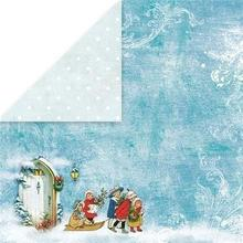 Papier ozdobny 30,5x30,5 White Christmas - 03