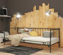 Lak System Łóżka metalowe Łóżko metalowe sofa 120x200 WZÓR 3 1202003