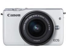 Canon EOS M10 + 15-45mm biały