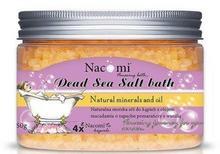 Nacomi Sól morska do kąpieli z olejem macadamia - Natural Macadamia Oil And Vanilla Dead Sea Salt Bath Sól morska do kąpieli z olejem macadamia - Natural Macadamia Oil And Vanilla Dead Sea Salt Bath