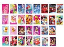 Disney Karnet złoty VERTE