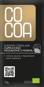 Surowa czekolada Cappucino z morwą 50g - Cocoa