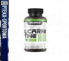 RX GOLD RX GOLD L-Carnitine 1000 Metabolic Support - 60 kaps DDB8-4859E