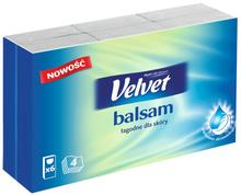 Velvet Balsam Chusteczki higieniczne 6x9szt