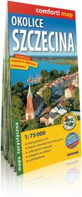 ExpressMap Okolice Szczecina - mapa turystyczna w skali 1: 75 000 - Praca zbiorowa