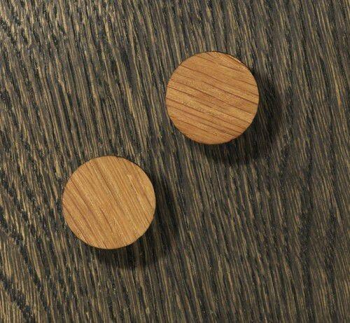 NAGA Flipchart Magnesy do szklanych tablic drewniane 2szt 70050
