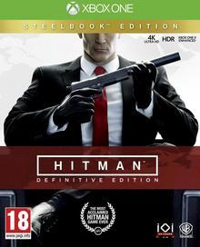 HITMAN: Definitive Edition + STEELBOOK! XONE
