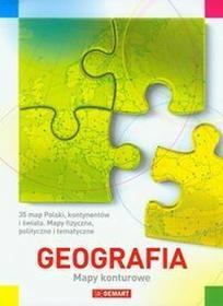 Demart Geografia Mapy konturowe - Demart