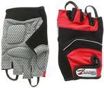 Accessoriez Zawierająca riez rower rękawiczki bez palców. czerwony. xl GL1001RXL