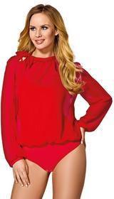 Damskie body Jane Red