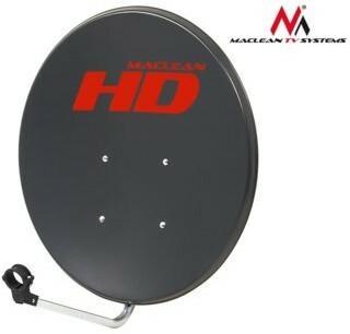 Maclean Antena satelitarna 80cm Maclean MCTV-780 grafit MCTV-780