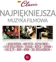 RMF Classic Najpiękniejsza muzyka filmowa Volume 1 CD) Various Artists