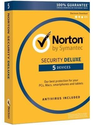 Symantec Security Deluxe 3.0 PL (5 stan. / 1 rok) - Nowa licencja