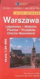 Daunpol  Warszawa plan miasta 1:26 000