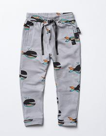 LuckyU Spodnie Wieloryby