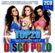 Wydawnictwo Folk Top 20. Najlepsze Hity Disco Polo vol. 2 CD