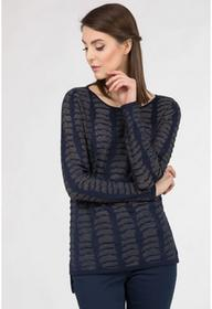 Monnari Sweter z nieregularnym wzorem