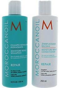 Moroccanoil szampon i odżywka - nawilżający zestaw regenerujący 885365846674