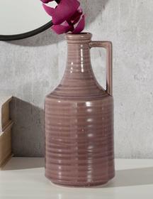 Dekoria Butelka wazon violet 30cm 30cm 001-695