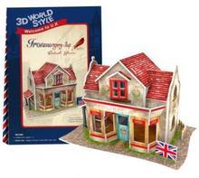 Cubicfun PUZZLE 3D Domki świata Wielka Brytania Hardware Shop 491980