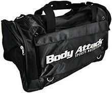 Body Attack dorosłych Sports akcesoria do treningu, czarny/biały, unisex 5338