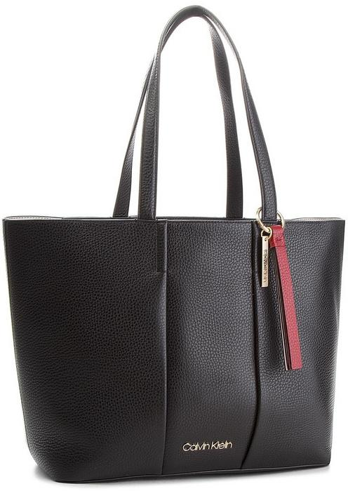 1f3b844472 Calvin Klein Black Label Torebka BLACK LABEL - City Leather Shopper  K60K604476 001