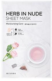 Missha Herb In Nude Sheet Mask Moisturizing Care