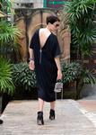 Momo fashion New T U N I K A TZ BLACK Oversize