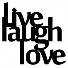 DekoSign Napis na ścianę LIVE LAUGH LOVE LLL1-1